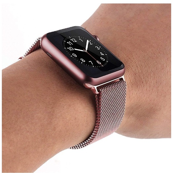 Apple Watch Gold With Milanese Loop Shop Clothing Shoes Online
